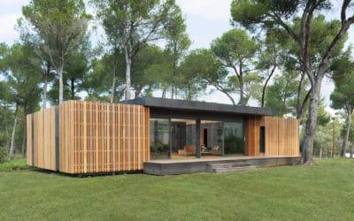 PopUp House : Une maison 100% recyclable en 4 jours