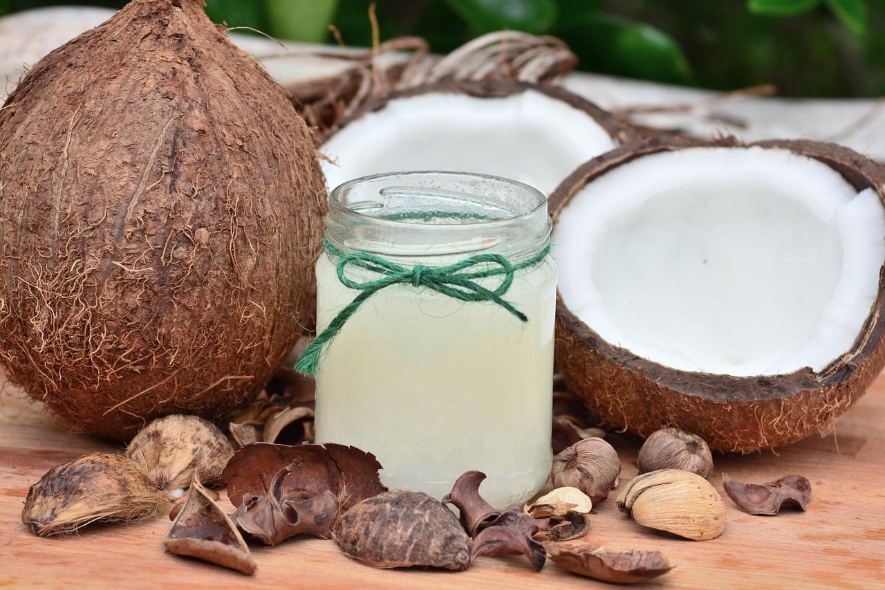 l'huile de coco antipoux