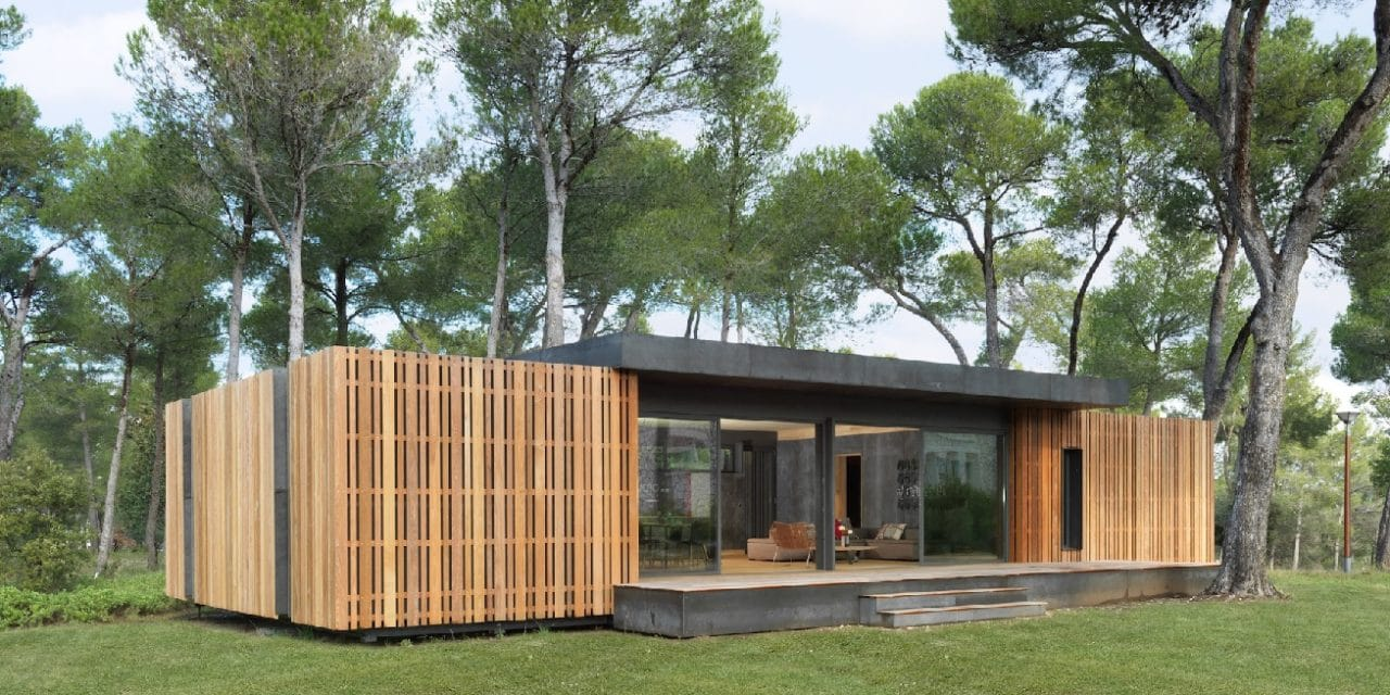 popup house une maison 100 recyclable en 4 jours smartplanete. Black Bedroom Furniture Sets. Home Design Ideas