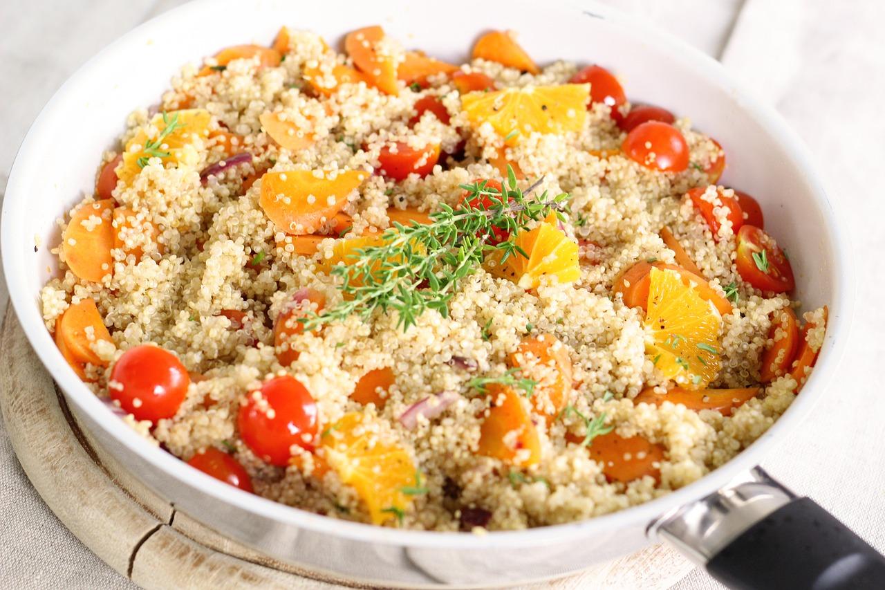 le quinoa, source de protéines