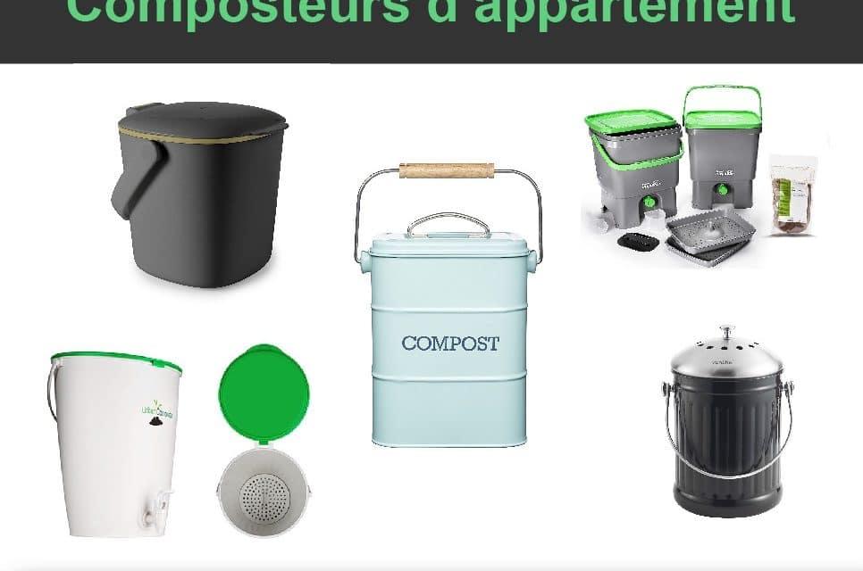 7 meilleurs composteurs d'appartement (cuisine et balcon)