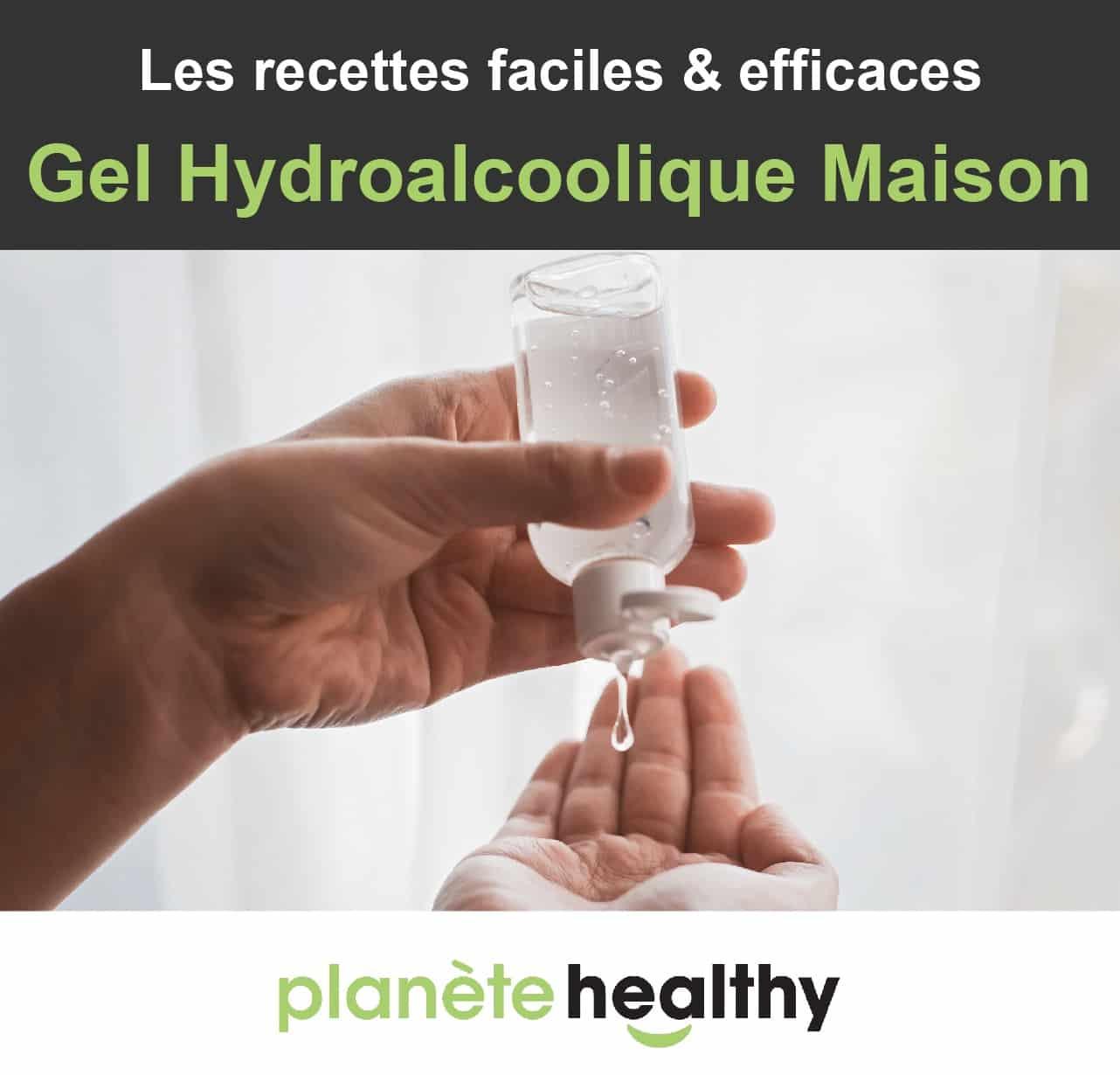 Gel Hydroalcoolique Maison : 2 recettes efficaces [+ OMS]