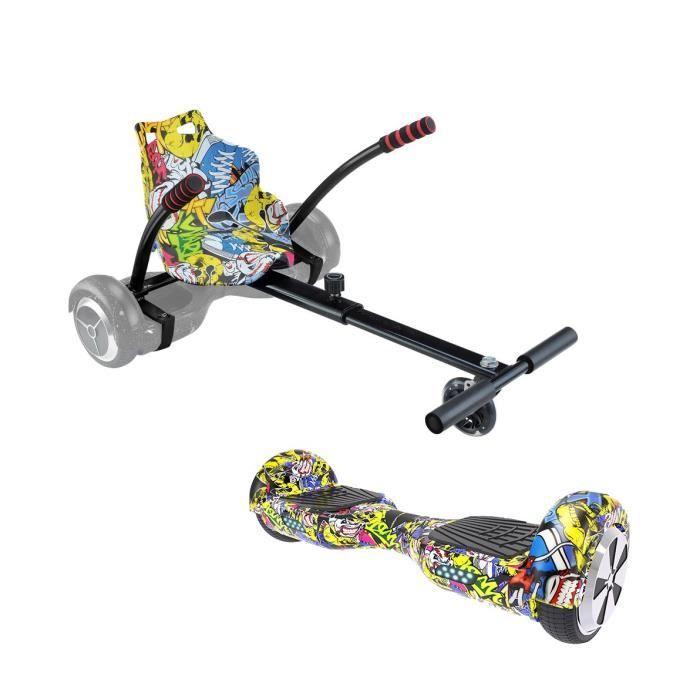 Urbanglide Pack Hoverboard Kart